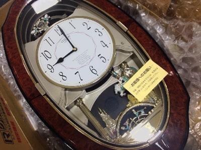 からくり時計の修理画像1