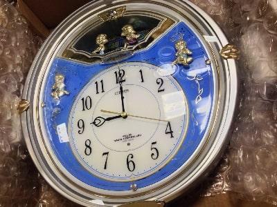 からくり時計の修理画像2