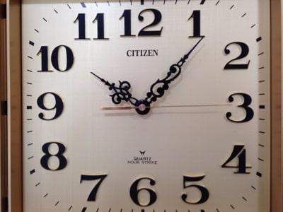昭和60年の掛時計修理画像3