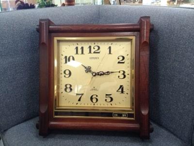 昭和60年の掛時計修理画像4